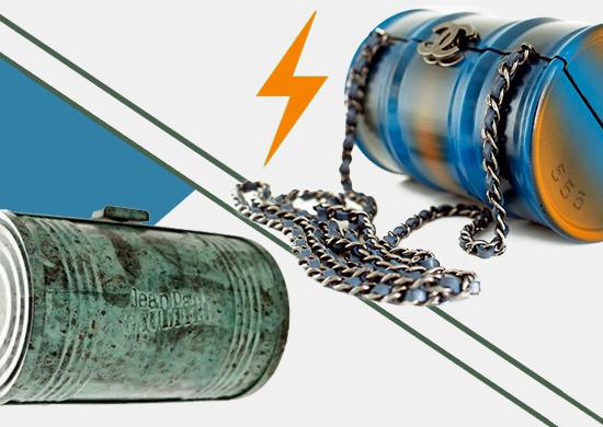 Сумки консервные банки от Chanel и Jean Paul Gaultier