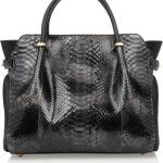 черная сумка Nina Ricci bag