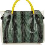 зеленая сумка Nina Ricci bag