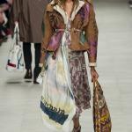 burberry этническая сумка boho-chic