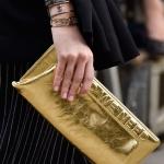 Золотой клатч Chanel (Spring 2015)