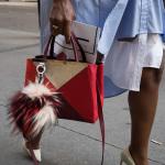 красная сумка Fendi bag bags