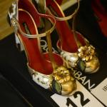 обувь золото dolce and gabbana