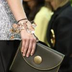 коричневая сумка celine boho-chic