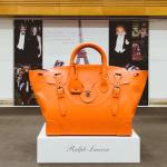 оранжевая сумка Giant Ricky от Ralph Lauren